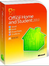Office 2010 Home and Student (для дома и учебы)